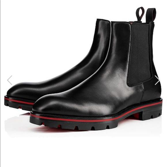 673eb56edf8 Christian louboutin alpinono Chelsea boots